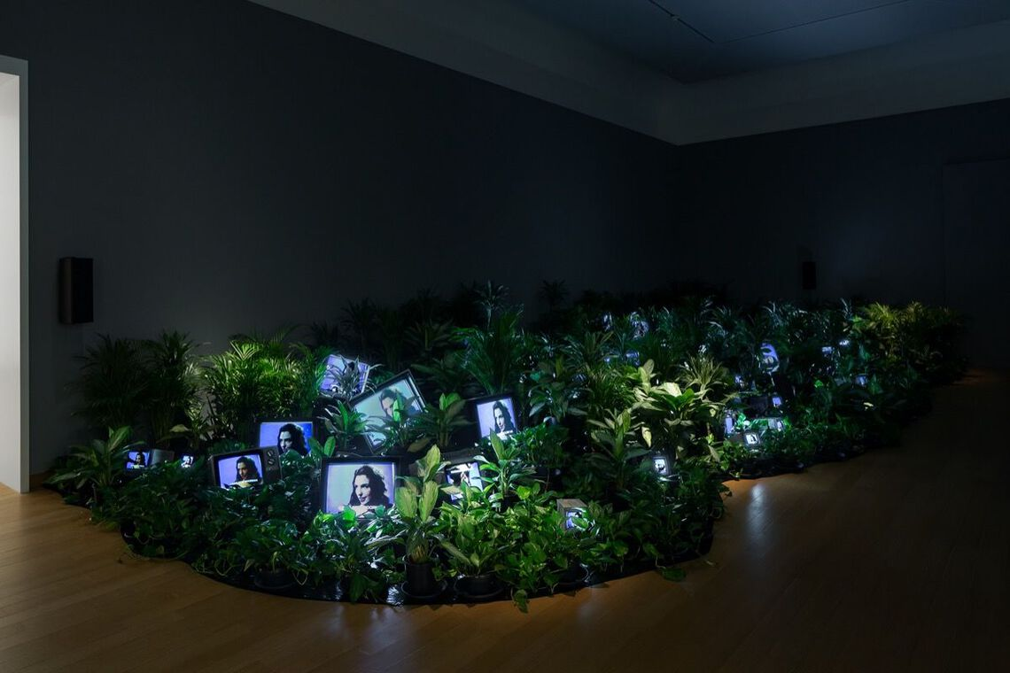 Nam June Paik, TV Garden, 1974-1977, reconstructed 2002