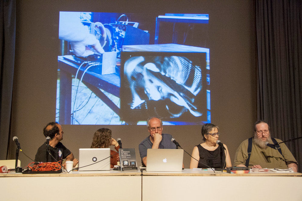 "Launch of ""The Emergence of Video Processing Tools"", New Museum, New York, US. Screen capture of the video from Vimeo"